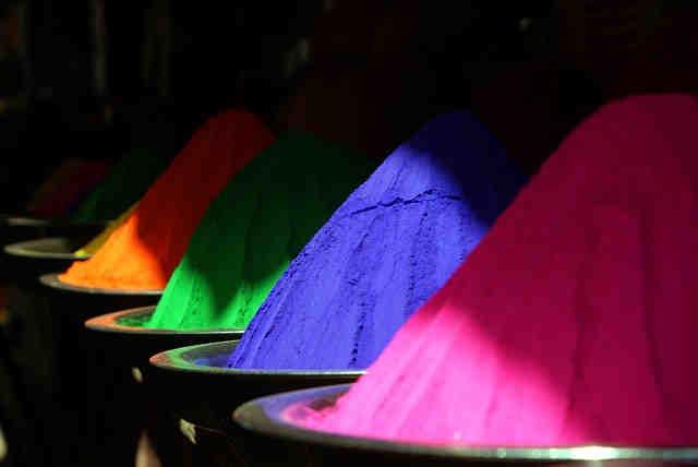 Colorantes y pigmentos para hacer jabón