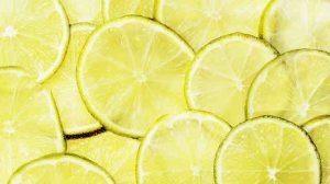 jabón de glicerina con limón